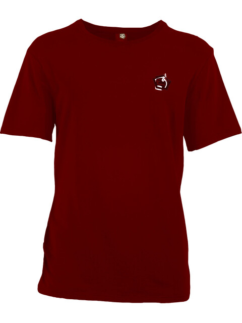 E9 M's Moveone Short Sleeve T-Shirt Wine